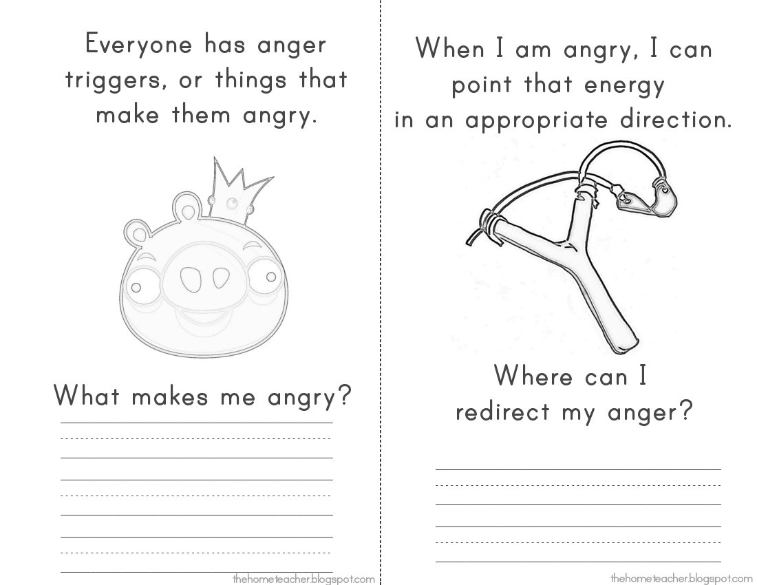 "More ""don't Be An Angry Bird"" Printables - The Home Teacher 