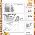 Much   Many   A Lot Of Worksheet   Free Esl Printable Worksheets | How Many How Much Worksheets Printable
