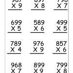 Multiplication Worksheets For 5Th Grade   Worksheetfun   Free   Multiplication Printable Worksheets 4Th Grade