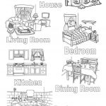 My House Worksheet   Free Esl Printable Worksheets Madeteachers | Home Worksheets Printables