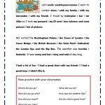 My Trip To London Worksheet   Free Esl Printable Worksheets Made | London Worksheets Printable