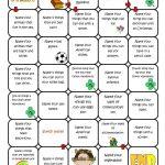 Name Four Things Board Game Worksheet   Free Esl Printable | Printable Barrier Games Worksheets