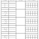 Number Practice 1 10: Trace, Write, Draw, Fill In Ten Frame. Plus A | Frame Games Printable Worksheets