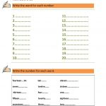 Numbers 1 100 | Esl | Numbers 1 100, 1St Grade Worksheets, Worksheets | Numbers 1 100 Printable Worksheets