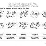 Numbers 11 20 Worksheet   Free Esl Printable Worksheets Madeteachers | French Numbers 1 20 Printable Worksheets