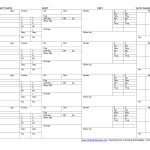 Nursing Worksheets Printable | Sample Nursing Worksheet, Free | Printable Cna Worksheets