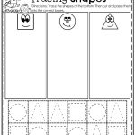 October Preschool Worksheets | Sheets | Preschool Worksheets, Shape | Free Printable Kindergarten Worksheets Cut And Paste