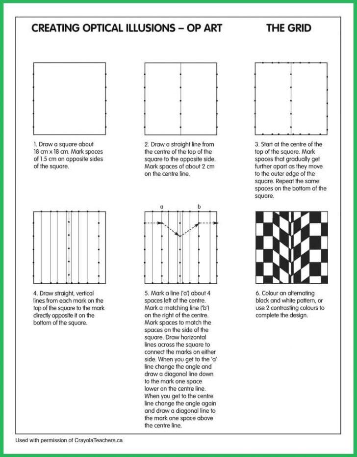 Optical Illusion Worksheets Printable