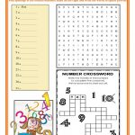 Ordinal And Cardinal Numbers Worksheet   Free Esl Printable | Qu Worksheets Printable