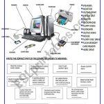 Parts Of The Computer   Esl Worksheetsilvina Joaquina   Parts Of A Computer Worksheet Printable