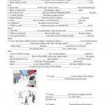 Past Continuous Vs. Past Simple Tense Worksheet   Free Esl Printable | Past Progressive Tense Worksheets Printable