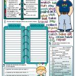 Past Simple Tense Worksheet   Free Esl Printable Worksheets Made | Past Simple Printable Worksheets