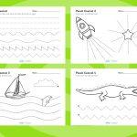 Pencil Control Worksheets. Free Printables. | Fine Motor Skills | Printable Pencil Control Worksheets