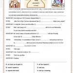 Phone Conversation Worksheet   Free Esl Printable Worksheets Made | Free Printable English Conversation Worksheets