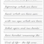 Pinannette 🌸🌼🌺 On Cursive Writing | Cursive Handwriting | Free Printable Cursive Writing Sentences Worksheets