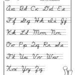 Pinjessica From Honeysuckle & Vine On Homeschool | Cursive | Free Printable Script Writing Worksheets