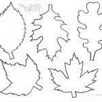 Pinlucie Davis On Skolka Worksheets | Leaf Template, Leaf   Free | Free Printable Leaf Worksheets