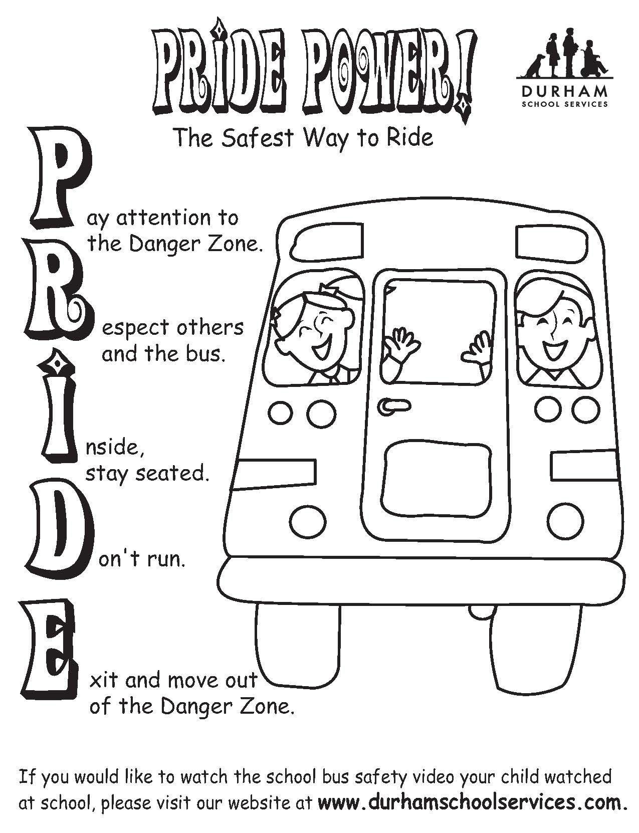 Pinmatt Maloney On Pbis | School Bus Safety, Bus Safety, Energy Bus | Free Printable School Bus Safety Worksheets