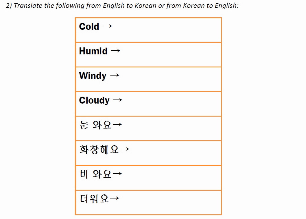 Places – Fresh Korean | Printable Korean Language Worksheets