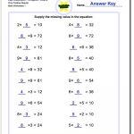 Pre Algebra | Printable Algebra Worksheets