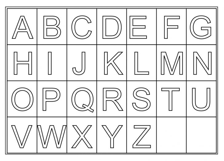 Abc Printable Worksheets