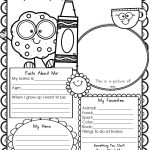 Preschool & Kindergarten Archives   Modern Homeschool Family | All About Me Worksheet Preschool Printable