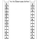 Preschool Worksheets Free Uppercase And Lowercase Letters | Learning | Vpk Printable Worksheets