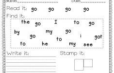 Free Printable Handwriting Worksheets For Preschool