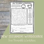 Printable Bible Activities Archives   Path Through The Narrow Gate | Free Printable Children's Bible Worksheets