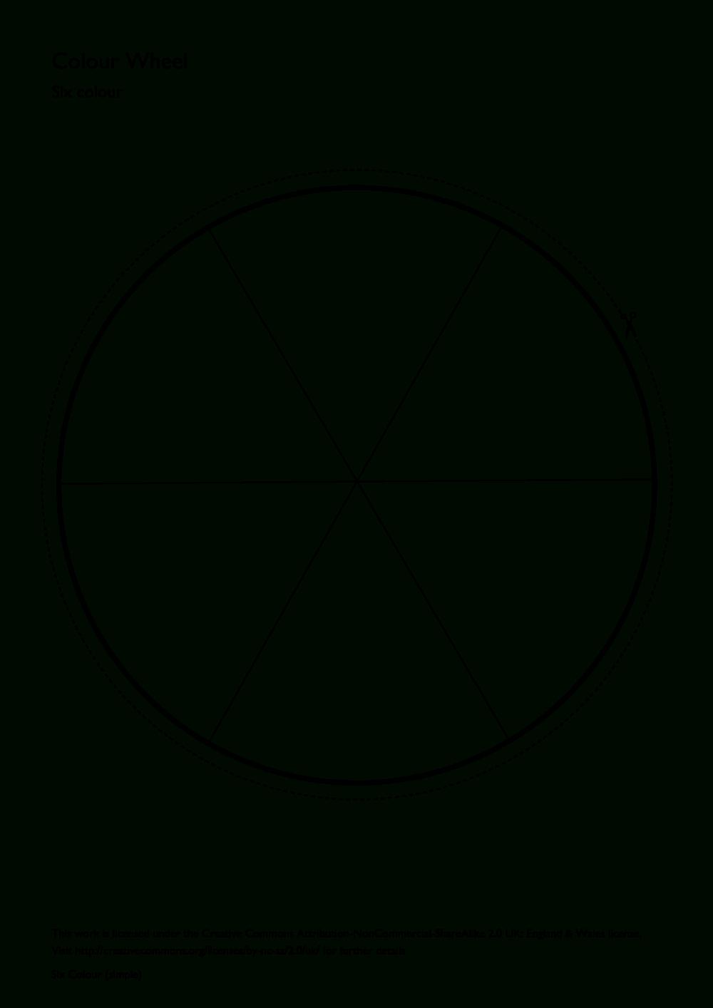 Printable Blank Color Wheel - Google Search | 1St | Color Wheel Art | Printable Color Wheel Worksheet