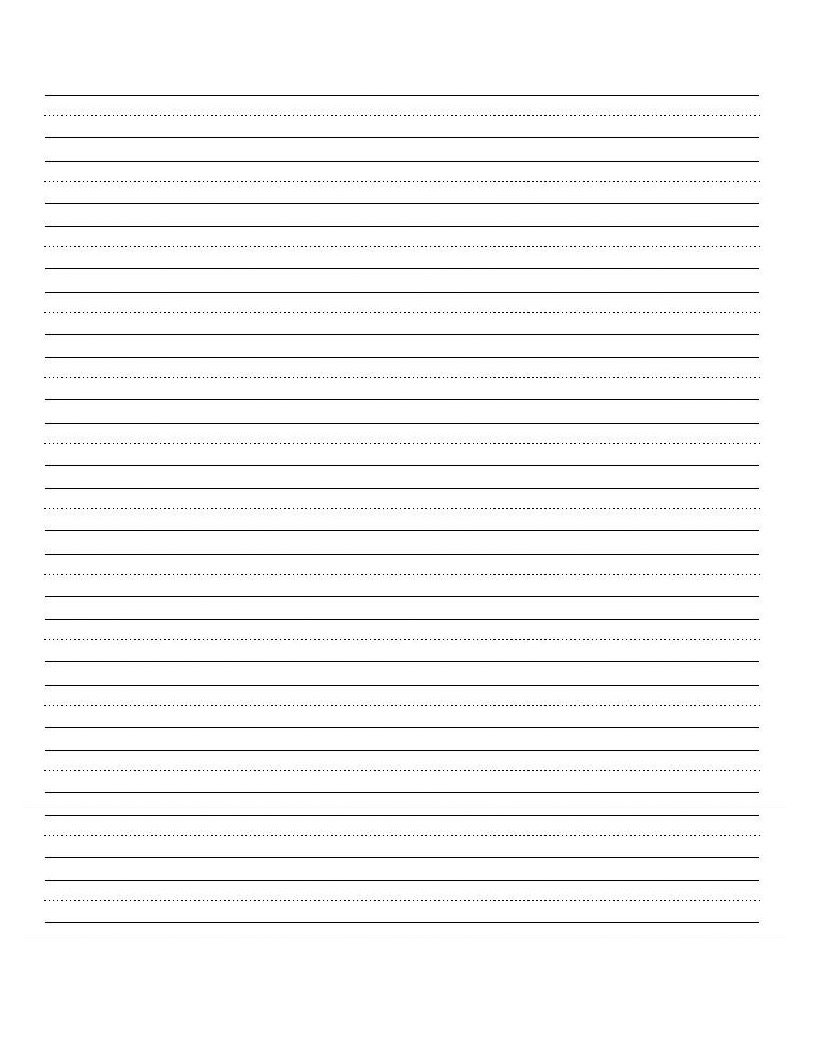 Printable Blank Writing Worksheet | Education | Cursive Writing | Printable Blank Handwriting Worksheets