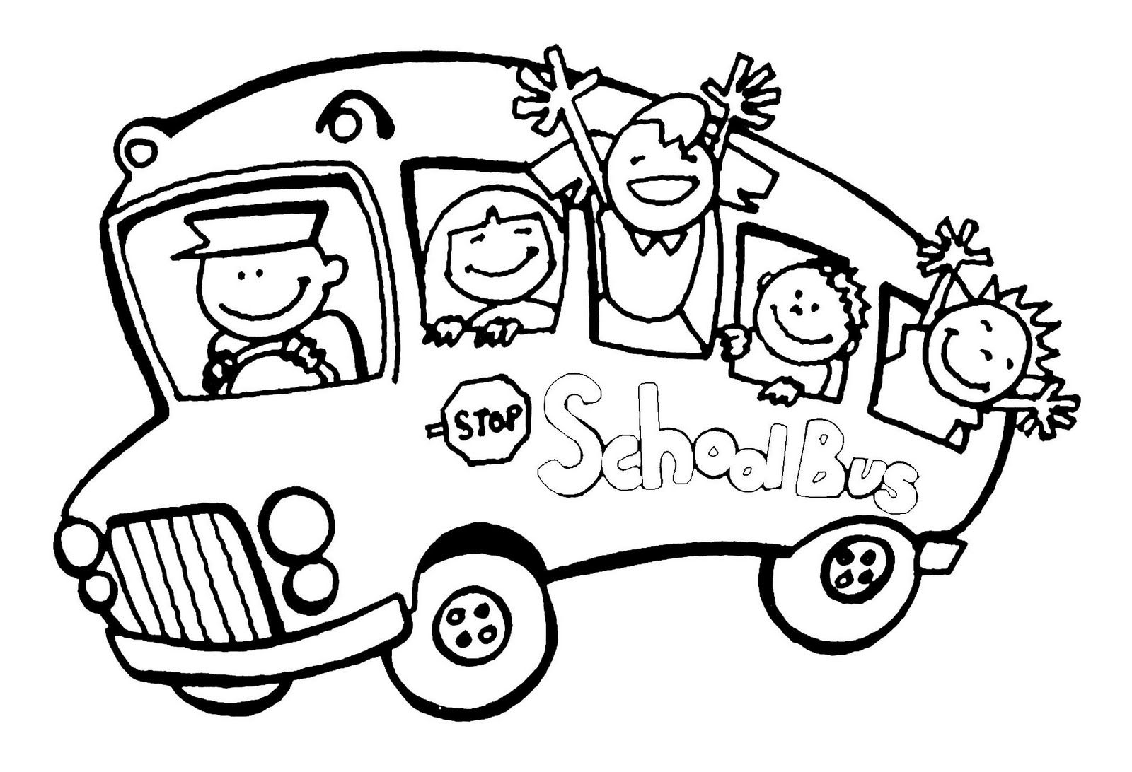 Printable Coloring Pages School Bus | Imbullyfree | Coloring For | Free Printable School Bus Safety Worksheets