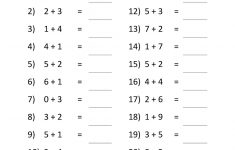 Worksheets Printable For Grade 1