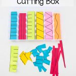 Printable Preschool Cutting Busy Box   Fun With Mama   Free | Free Printable Fine Motor Skills Worksheets