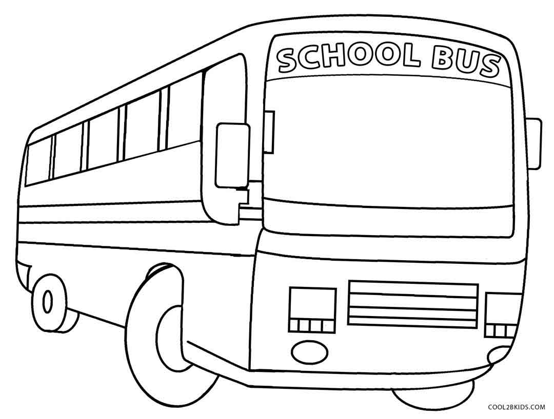 Printable School Bus Coloring Page For Kids | Cool2Bkids | Free Printable School Bus Safety Worksheets