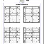 Printable Sudoku Puzzles | Room Surf | Printable Sudoku Worksheets