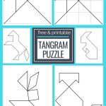 Printable Tangrams   An Easy Diy Tangram Template | Free Homeschool | Printable Tangram Worksheets