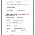 Printable Teachers  Made Simple Past Free Worksheet Esl | Free Printable Esl Worksheets