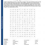 Printable Worksheets | Free Printable Health Worksheets For Middle School