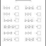 Printable Worksheetsgrade Level Andskill. | Teaching Ideas | K2 Maths Worksheets Printable