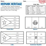 Printables For Hispanic Heritage Month | Time For Kids | Hispanic | Hispanic Heritage Month Printable Worksheets
