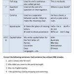 Punctuation And Capitalization Worksheet   Free Esl Printable | Free Printable Worksheets For Punctuation And Capitalization