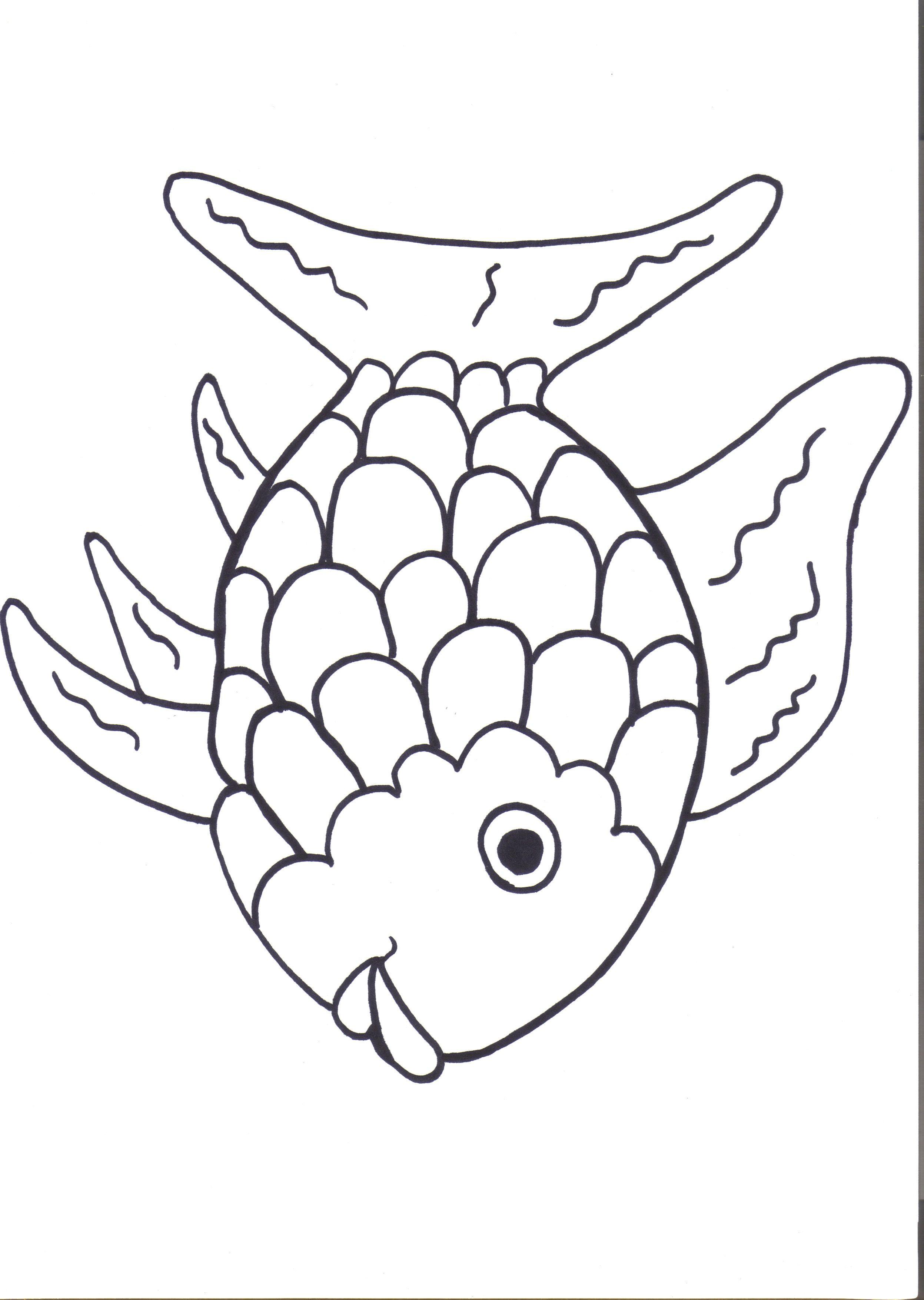 Rainbow Fish Printables August Preschool Themes | Child Care | Rainbow Fish Printable Worksheets