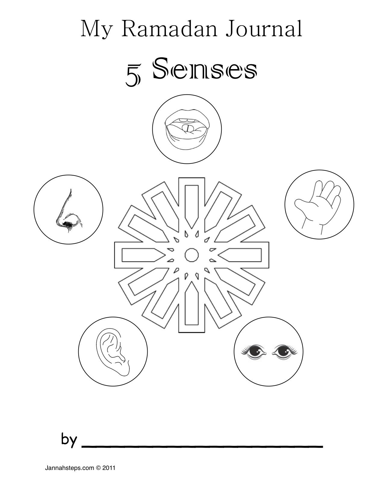 Ramadan Activity Sheets | Ramadan Activity For Kids: My 5 Senses Of | Ramadan Worksheets Printables