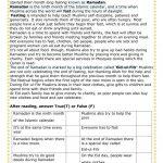 Ramadan Worksheet   Free Esl Printable Worksheets Madeteachers | Ramadan Worksheets Printables
