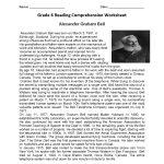 Reading Worksheets | Sixth Grade Reading Worksheets | Reading Worksheets For 6Th Grade Printable