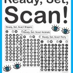 Ready, Set, Scan   Visual Scanning And Discrimination Activity | Printable Visual Scanning Worksheets For Adults
