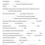 Romeo And Juliet Activities Worksheet   Free Esl Printable   Romeo And Juliet Free Printable Worksheets