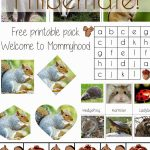 Science Activities For Preschoolers And Toddlers: Hibernation | Free Printable Hibernation Worksheets