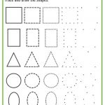 Shapes Worksheets For Preschool [Free Printables] – Mary Martha Mama | Printable Preschool Worksheets Shapes